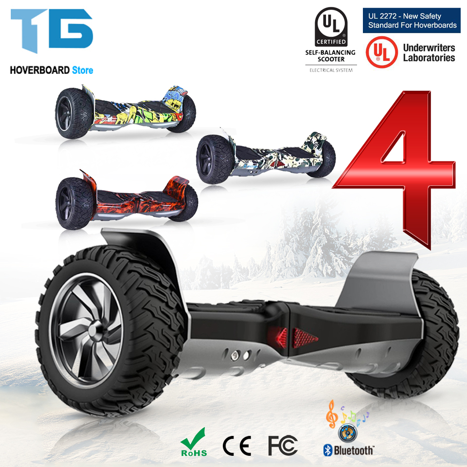 Hoverboard Off Road 8.5 Inch Overboard Electric Skateboard Patinete Electrico Adulto Trottinette Electrique Adulte ES FR Stocks two rounds electric scooter pure power and power mode trottinette electrique adulte collapsible 4 inches pneumatic tire