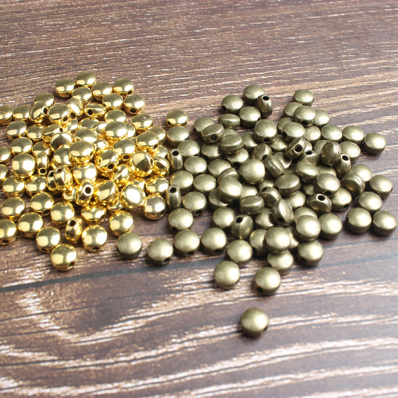 LingXiang 6mm 81pcs Gold And Silver Color Silicon Color Matching Ear Nails, Ear Plug, Ear Nut, Jewelry, Accessories And So On