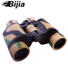 Big discount Bijia Binocular 8×42 High-power telescope Non-infrared Night Vision Binoculars Waterproof Hunting /travelling Binoculars 1000m