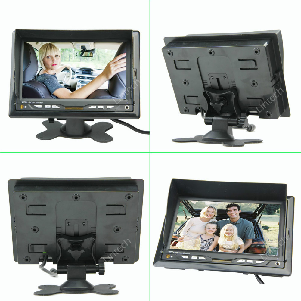 7 inch Rear View Reverse Wired RV Rear View Camera System-in Vehicle ...