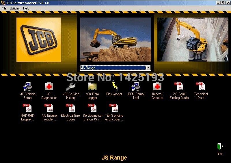 JCB Service Master 2 v10.0.3 jcb jpl015