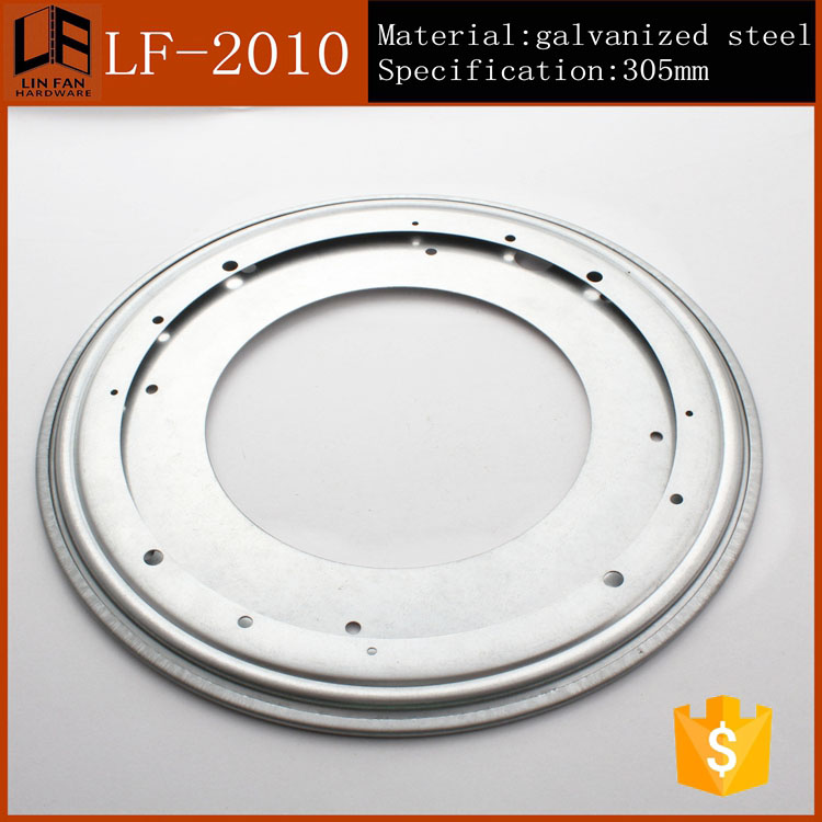 Hardware Accessories 305mm Round Turntable Bearing Swivel Plate Lazy Susan