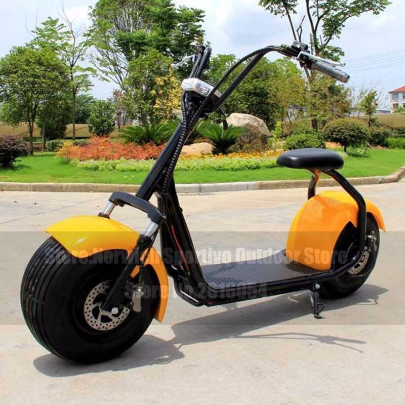 Citycoco Electric Scooter Adult 2 Wheel Lifestyle Fat Tire 1000W Motorcycle E-Bike Bicycle Electric Motorcycle Electric Scooter