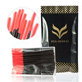 100pack huamianli Disposable Eyelash Brush Mascara Wands Applicator Wand Brushes Makeup Eyelash Comb Brushes Spoolers 50PCS/pack