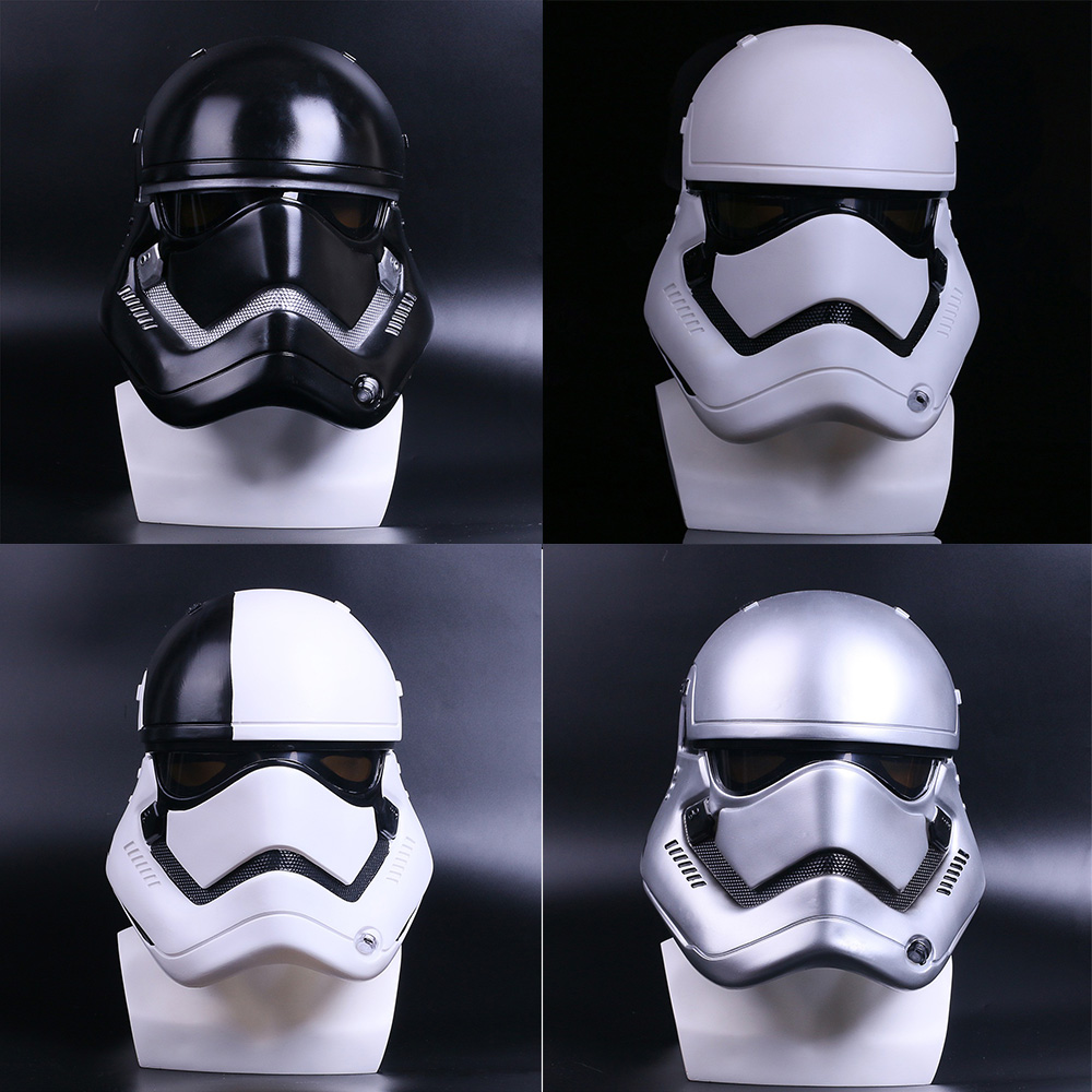New Star Wars Helmet Stormtrooper Helmet Mask DIY Color PVC Adult Halloween Party