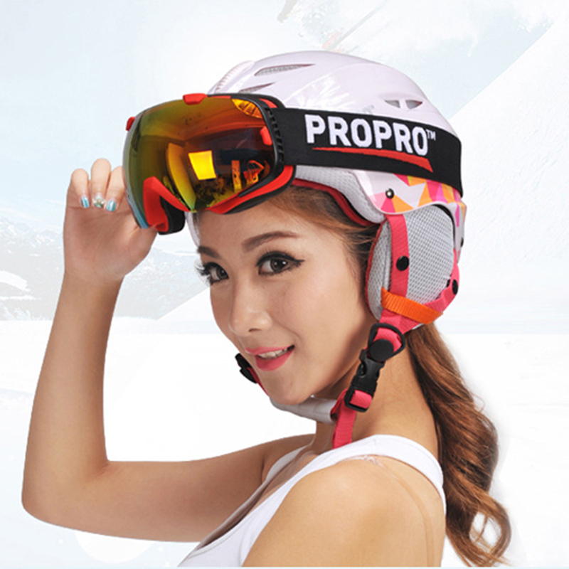 Ultralight Skiing Ski Snowboard Helmet Skate Skateboard Warm Lining Protective Helmet For Children Men Women Windproof pink ski helmets cover motorcycle skiing helmets best outdoor safety helmet for skiing snowboard skating adult men women