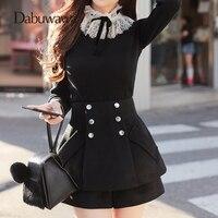 Dabuwawa Black Lace O Neck Long Sleeve Sweaters Elegant Pullovers Fit Knitwear Women Sweater Winter Knitted Jumper #D17DKT056