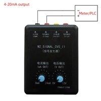 4-20mA генератор сигналов 24 В Ток Напряжение передатчик источник сигнала постоянный ток источник моделирования