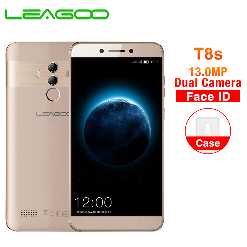 LEAGOO T8s 5 5 FHD Incell screen Mobile Phone Android 8 1 MTK6750T Octa Core 4GB