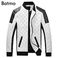 Free Shipping Super Fashion And High Quality Sheepskin Genuine Leather Star Style Men Motorcycle Leather Jacket