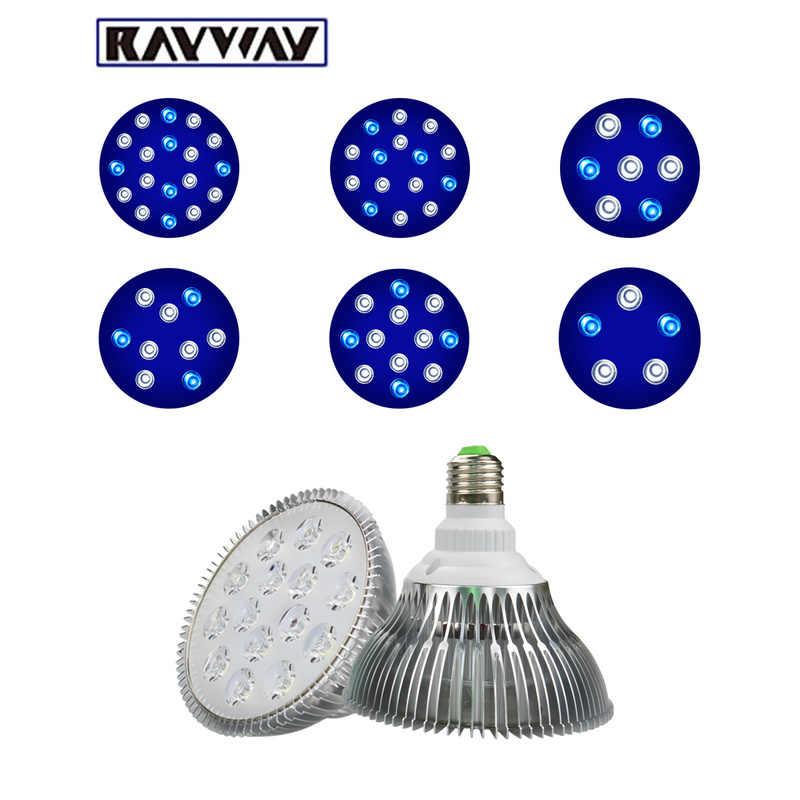 RAYWAY E27 led aquarium light Plant PAR38 Bulb rampe led aquarium Lighting Saltwater Coral Reef Grow Lamp Fish Tank decoration