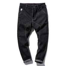 Мужчины Уничтожены Джинсы М-5XL Плюс Размер Высокое Качество 2017 Мужские джинсы Slim Fit Джинсы Рип Мужчины Модной Одежды Джинсовой брюки
