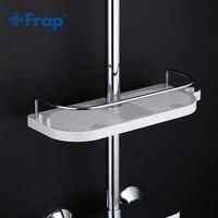 Frap новые пластиковые Ванная комната смеситель для душа аксессуары Полки для душа Для ванной поставки аппаратных аксессуары f339