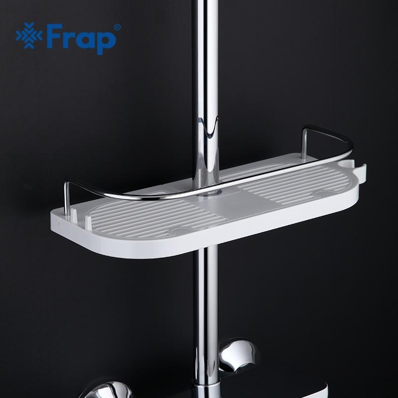 Frap New Plastic Bathroom Shower Faucet Accessories Shelves For Shower Faucet  Bath Supplies Hardware Accessories F339