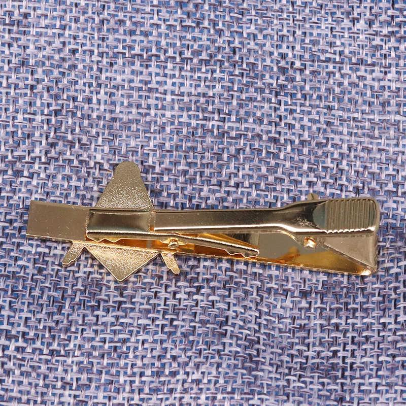 Masónico clip de corbata de tono dorado masón pin AG masonería corbata tachuela simple Caballero accesorio regalo para hombres de negocios