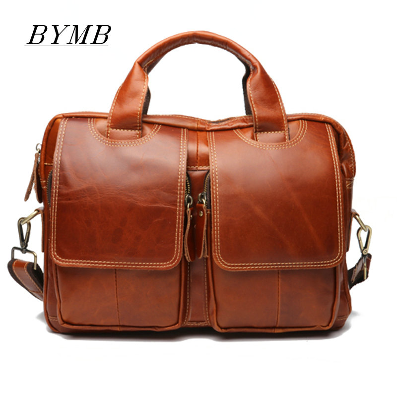 100% Genuine Leather bag Crossbody bags Shoulder Handbag Mens Messenger Bag Business Men bags Laptop Tote Briefcases 100% Genuine Leather bag Crossbody bags Shoulder Handbag Mens Messenger Bag Business Men bags Laptop Tote Briefcases