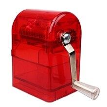 Amoladora de manivela de metal fumar hierba amoladoras malezas cigarrillo de tabaco Trituradora kaloud moledor caja de plástico