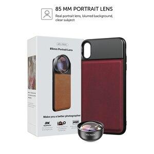 Image 5 - APEXEL 85mm 3X HD téléobjectif professionnel télescope lentille portrait, pas de cercle sombre pour Samsung huawei Xiaomi tous les téléphones portables