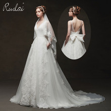 Ruolai Real Photo Wedding Dresses wedding dress 2019