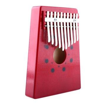Kalimba portable avec 10 notes en bois de pin 3
