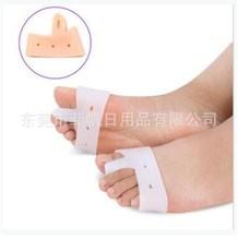 10pcs=5pairs Silicone toe splitter thumb valgus corrector bigfoot pronation correction toe splitter insole