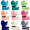 Winter luxury Brand solid Cashmere Scarf Women Tassels Blanket Scarf Wrap long viscose Scarf Women Pashmina Shawls and Scarves