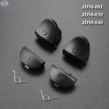 YuXi L1 R1 + L2 R2 boutons de déclenchement bouton de manette JDM 001 011 030 040 pièces de rechange pour contrôleur PlayStation 4 PS4 avec ressort