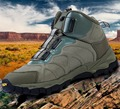 Climbing Boots Hiking Shoes Oxford Fabric and Mesh Vamp Brand ESDY Tingtness Quickly Adjustable
