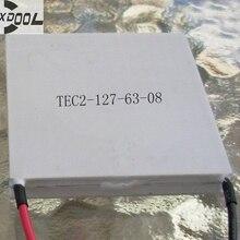 SXDOOL охлаждения TEC2-15806 2-ступенчатый многоступенчатый 6A 13,3 V 41 Вт 40*40*7,8 мм термоэлектрический модуль для охлаждения Пельтье пластины по индивидуальному заказу