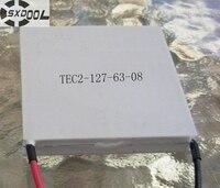 SXDOOL cooling TEC2-15806 2-stage meertraps 6A 13.3 V 41 W 40*40*7.8mm Thermo-elektrische Koeling module Peltier plaat Aangepaste