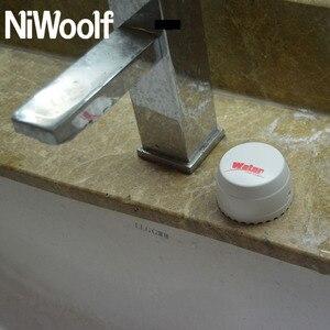 Image 5 - جهاز كشف تسرب المياه اللاسلكي من Niwoolf بتردد 433 ميجاهرتز ، جهاز استشعار تسرب المياه ، لنظام إنذار المنزل اللصوص الذي يعمل بالواي فاي/GSM بقدرة 433 ميجاهرتز