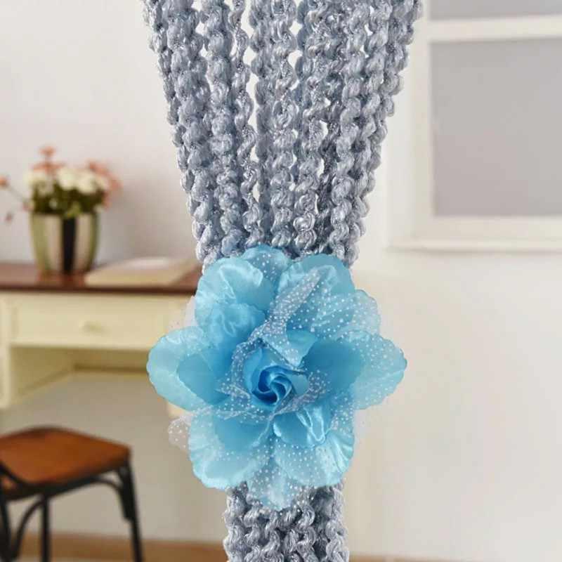 Flowers Curtain Clip Curtain Tieback Living Room Bedroom Home Curtain Holder Tie Backs Home decor