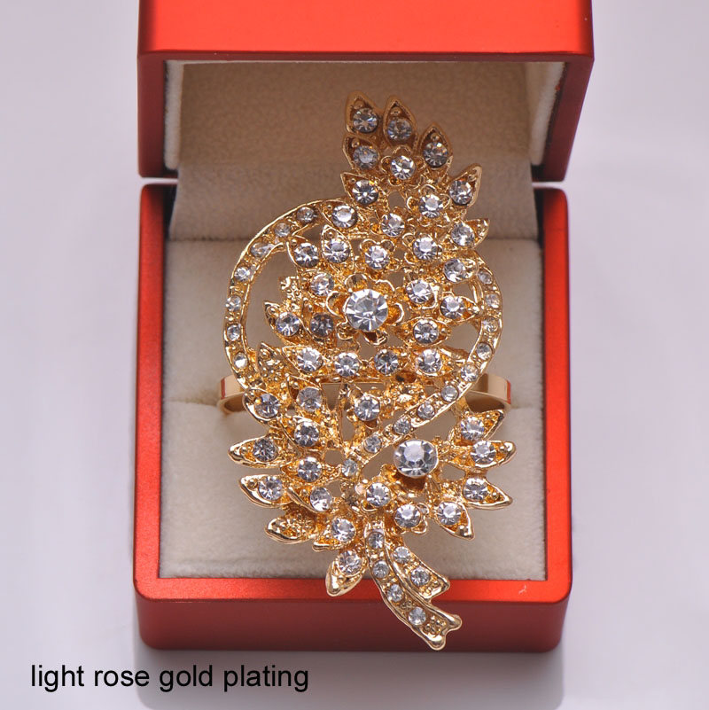Buy l0731 ring free shipping 50pcs lot for Decoration rose gold
