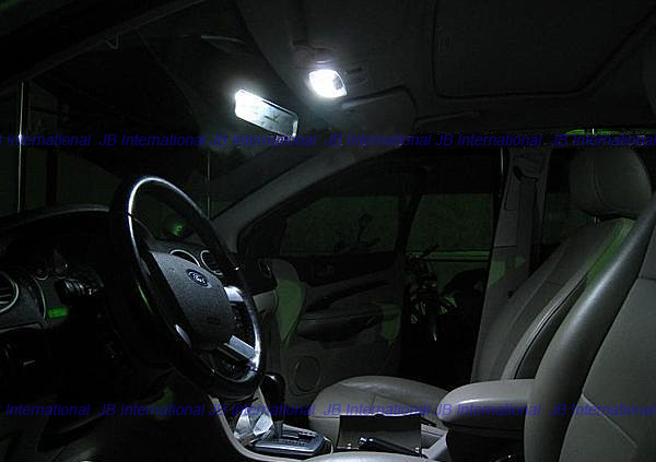 buy parking l led interior lights kit for ford focus mk2 facelift st and rs. Black Bedroom Furniture Sets. Home Design Ideas