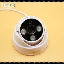 HKES New 2MP Video Mini Camera 1080P AHD Camera with 3ARRAY IR LEDs