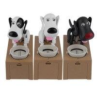 新しいデザイナー子犬ハングリー食べる犬コインバンクマネーセービング箱貯金箱子供のおもちゃの装飾面白い子供のギフト