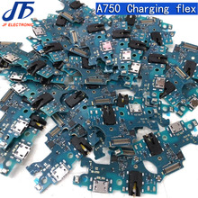 Replacement For Samsung Galaxy A7 2018 A750 a750f Charging flex USB Charging Dock Port Flex Cable part 10pcs
