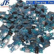 Vervanging Voor Samsung Galaxy A7 2018 A750 a750f Opladen flex USB Charging Dock Port Flex Kabel deel 10pcs