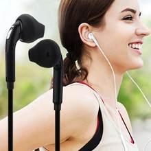 Do Samsung S6/ S6 Edge 3.5mm słuchawki Stereo muzyka przenośne słuchawki przewodowe słuchawki douszne brak Bluetooth z mikrofonem