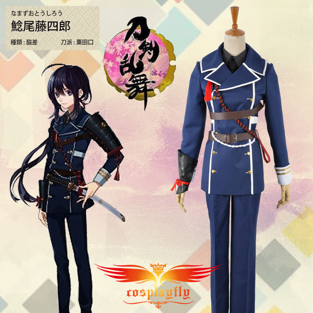HOT Webgame Touken Ranbu Namazuo Toushirou Battleframe Cosplay Costume Adult Men Outfit Clothing Christmas