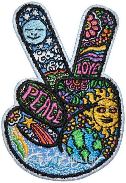 35 V Sign Victory Hand Hippie Peace Love Symbol Dan Morris Rock