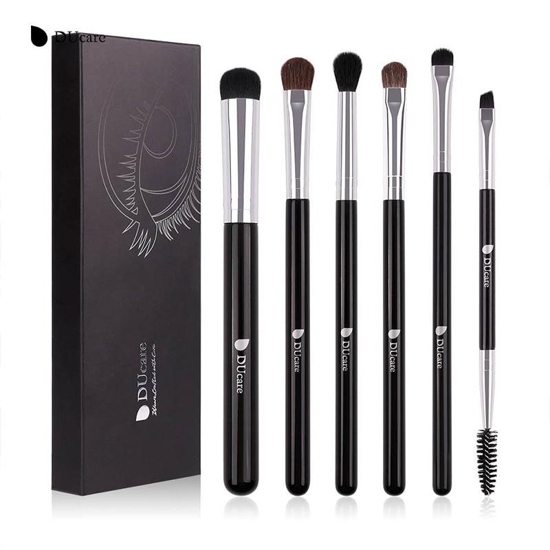Brushes Makeup Dishcare 6pcs Set Eyeshadow Set Pro Pro Shadow Eye - Grim