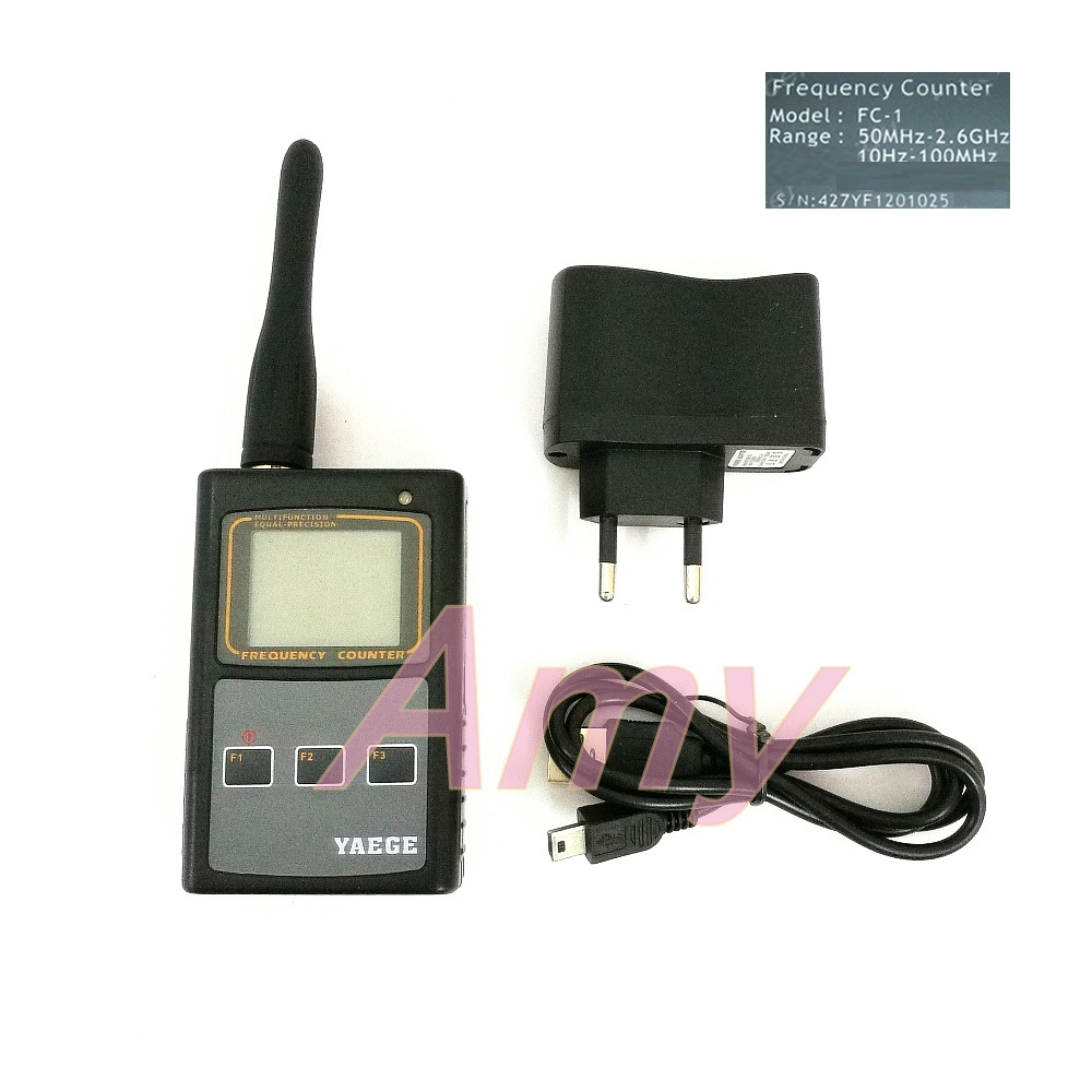 YAEGEFC 1 dual channel temperature compensation benchmark handheld frequency meter is easy to operate, reliable.-in Reactive Power Controllers from Home Improvement    1
