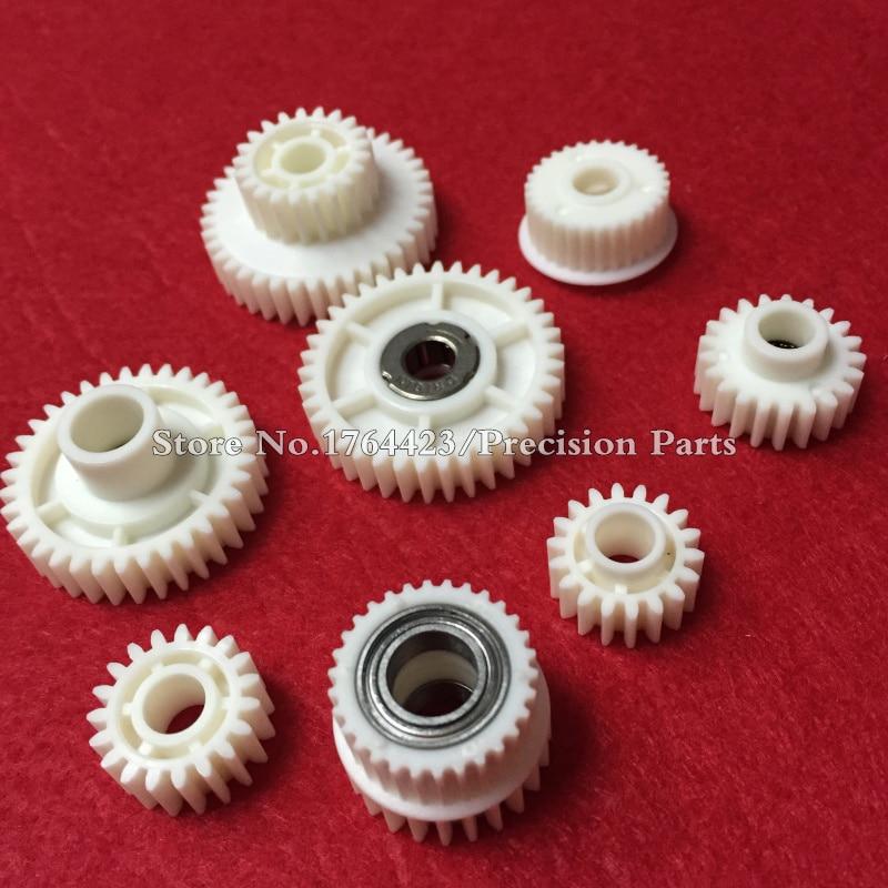 2Set X Paper Feed Up Gear Meeting For Af1075 Af2075 Af1060 Ab01-1490 Ab01-1466 Ab01-1491 Ab01-7617 Ab01-1469 Ab01-0734