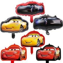 Mini balões folha de Alumínio 30 Pcs carro mcqueen mcqueen carro fontes do partido feliz aniversário decorações do partido crianças brinquedos atacado