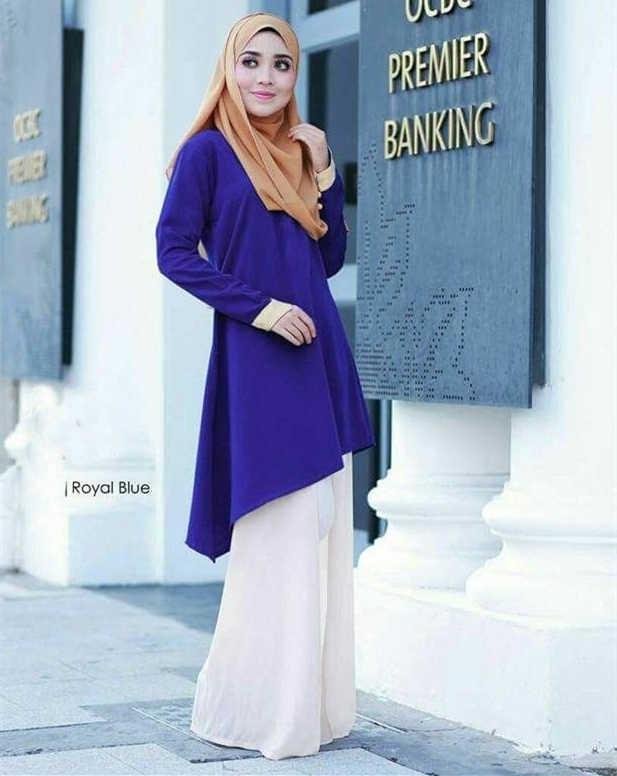 2017 das mulheres muçulmanas solto casual blusa ramadan árabe manga comprida blusa em torno do pescoço plus size camisas femininas árabes