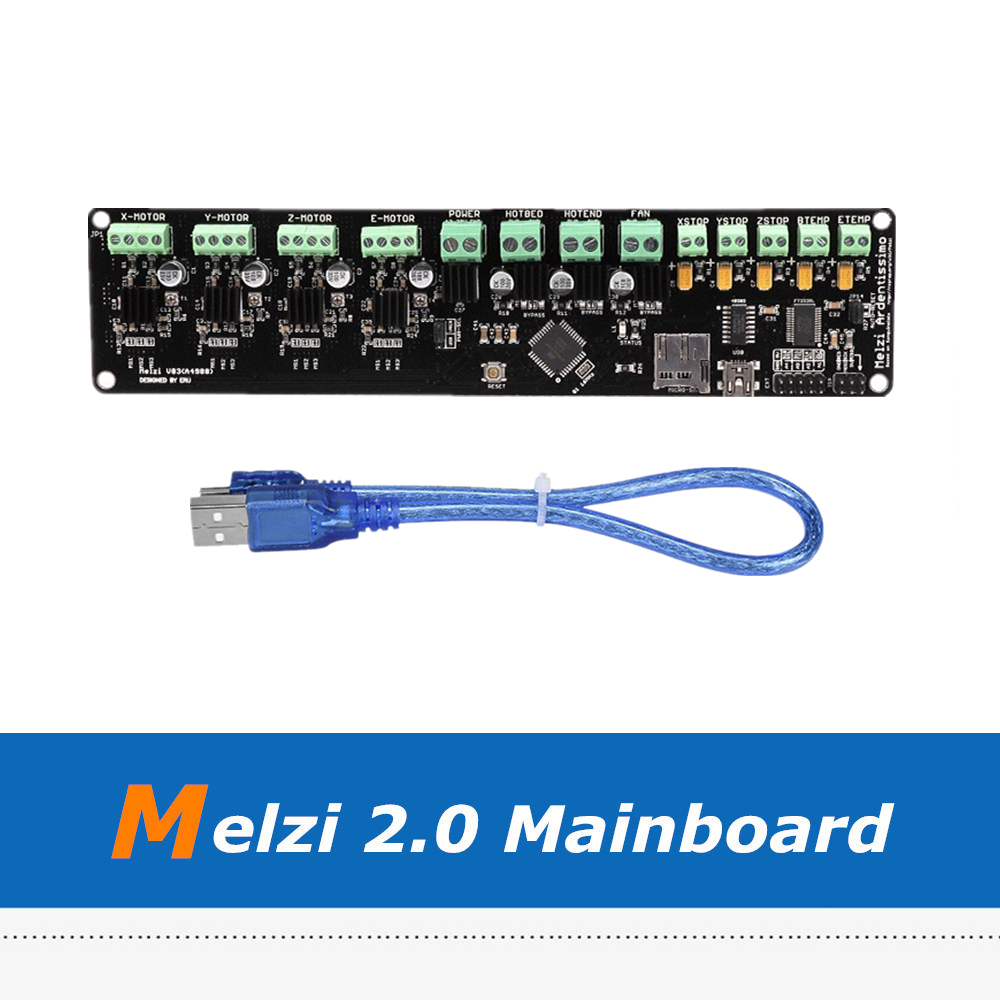 High-Quality Prusa I3 12V Melzi2.0 Controller Board 1284P For Reprap 3D Printer