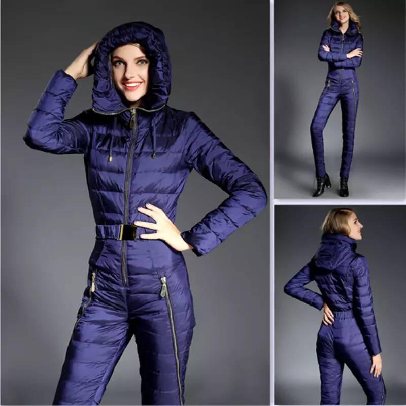 2018 Nouveau Hiver Vêtements Set Vêtements de Haute Qualité combinaison de Ski Femmes Vestes de Ski + Pantalon de Ski En Plein Air Costumes Livraison Gratuite