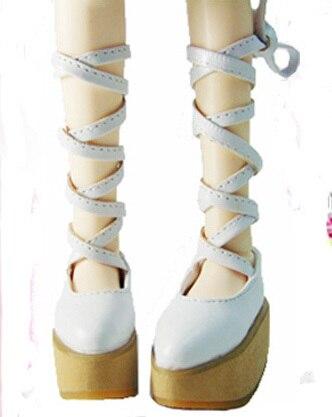 1/4 БЖД Кукла обувь Лоли обувь черный пункт белый пункт bjd sd снмп dz обувь