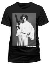 Star Wars Leia Classic Portrait T-Shirt - NEW & OFFICIAL Free shipping  Harajuku Tops Fashion